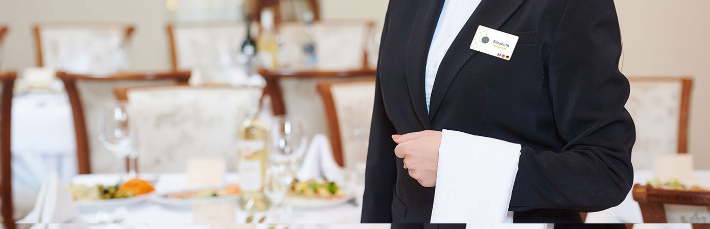 edikio guest employees badges