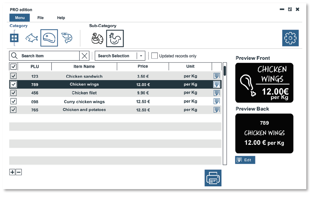 Edikio Software - Pro version preview