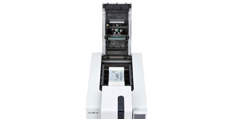 Edikio Duplex Price Tag printer - Ribbons are easy to install